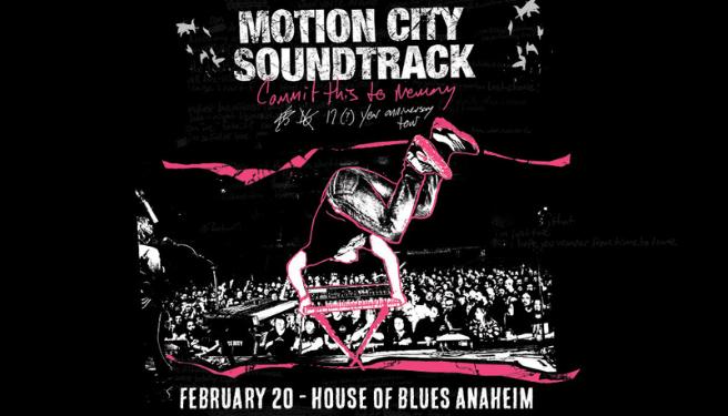 Motion City Soundtrack @ House of Blues Anaheim