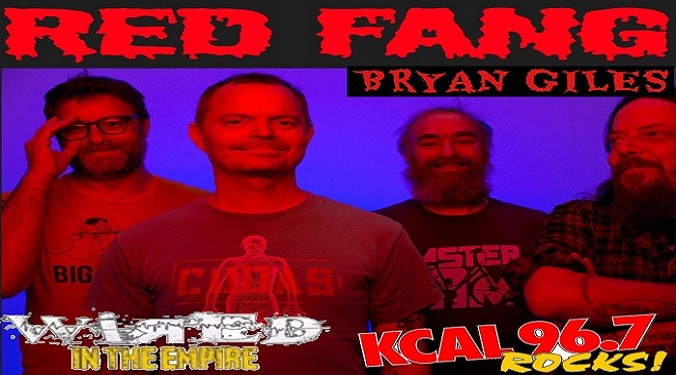 (LISTEN) Red Fang's Bryan Giles talks to Mike Z-Wired In The Empire
