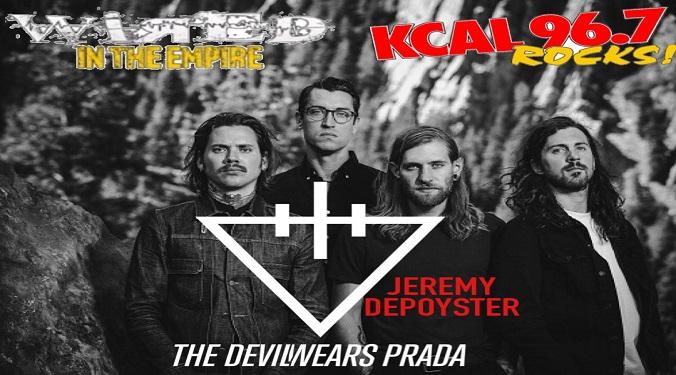 (LISTEN) The Devil Wears Prada guitarist/singer Jeremy Depoyster talks to Mike Z-Wired In The Empire