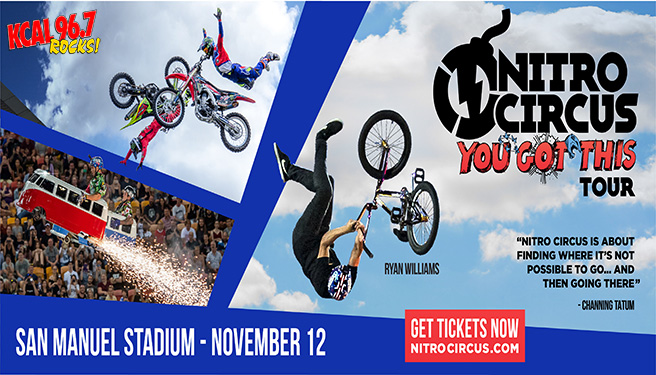 Nitro Circus at San Manuel Stadium on 11/12/21