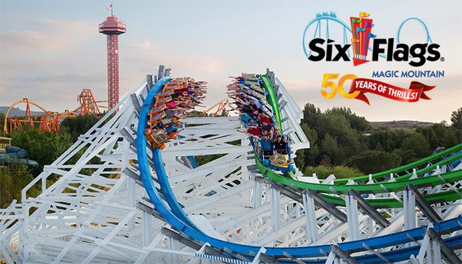 Six Flags Magic Mountain – Summer 2021