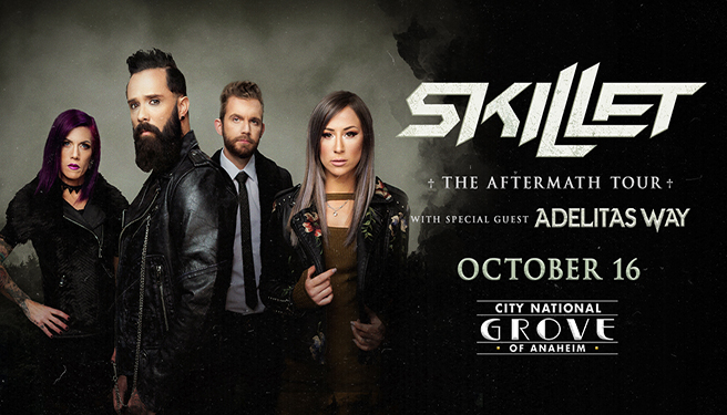 Skillet @ The City National Grove of Anaheim
