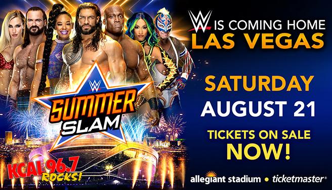 WWE SummerSlam @ Allegiant Stadium