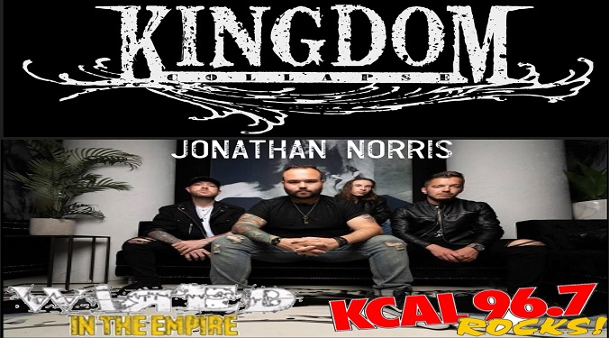 (LISTEN) Kingdom Collapse singer Jonathan Norris talks to Mike Z-Wired In The Empire