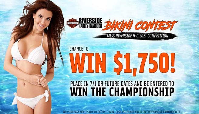 Riverside Harley Davidson Bike Night & Bikini Contest – 2021