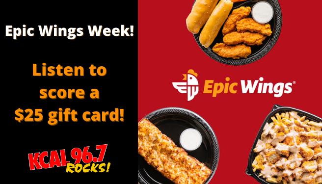 Epic Wings Week!