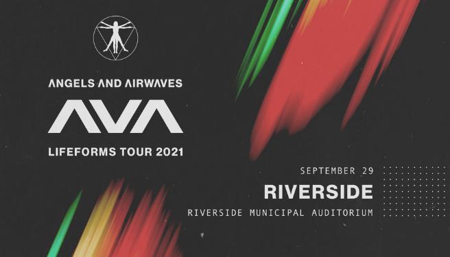 Angels & Airwaves @ the Riverside Municipal Auditorium