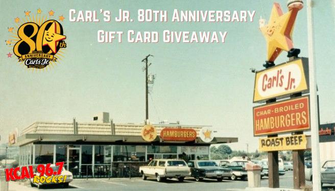 Carl's Jr. 80th Anniversary