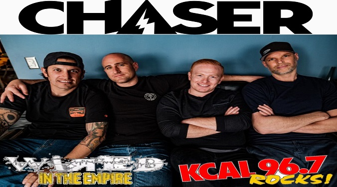 (LISTEN) Chaser singer Mike LeDonne talks to Mike Z-Wired In The Empire