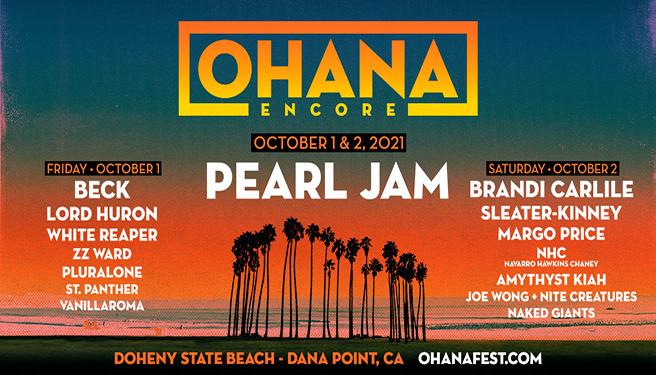 Ohana Encore Weekend @ Doheny State Beach