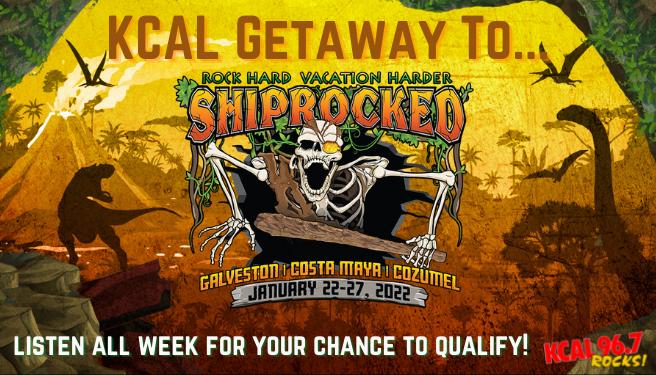 KCAL Getaway to Shiprocked!