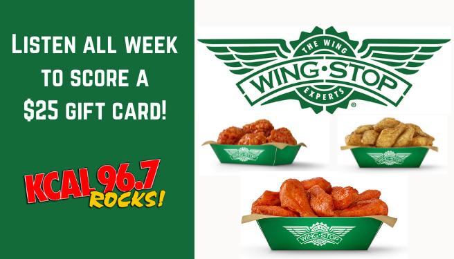 Week Give – $25 Wingstop Gift Card