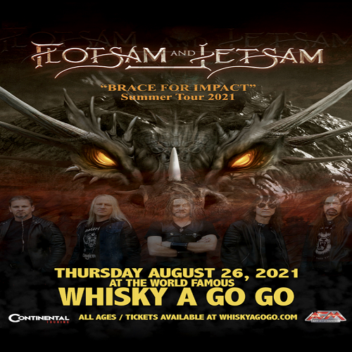 (LISTEN) Flotsam & Jetsam guitarist Michael Gilbert talks to Mike Z-Wired In The Empire