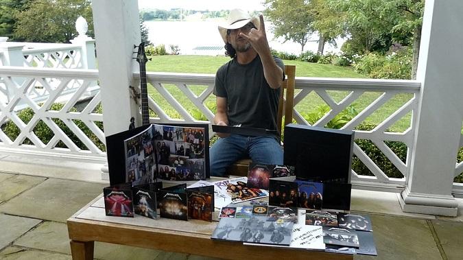 "Watch Jason Newsted ""Unbox"" The New Metallica Black Album 30th Anniversary Deluxe Box Set!"