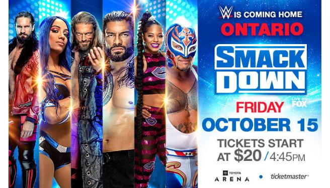 WWE Smackdown @ Toyota Arena