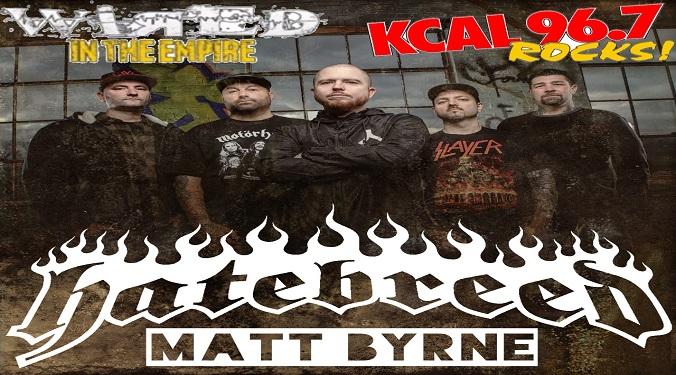 (LISTEN) Hatebreed drummer Matt Byrne talks to Mike Z-Wired In The Empire