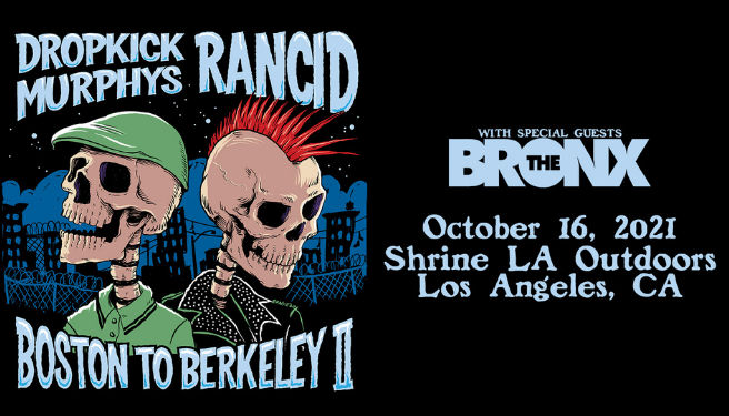 Dropkick Murphys & Rancid @ the Shrine LA Outdoors