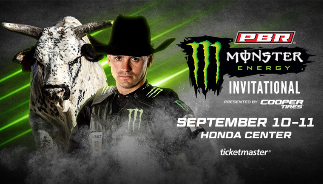 Professional Bull Riders – Unleash The Beast Monster Energy Invitational