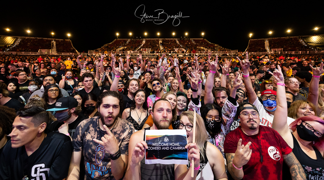 See The Photos! Coheed and Cambria, The Used, and Meet Me @ The Altar at FivePoint Amphitheatre