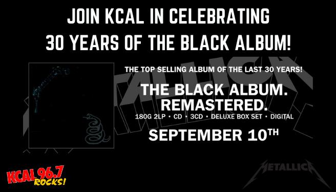 Metallica's 30th Anniversary of The Black Album