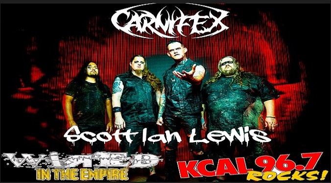 (LISTEN) Carnifex singer Scott Ian Lewis talks to Mike Z-Wired In The Empire