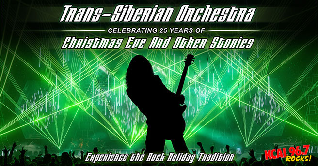 Join KCAL in Celebrating Tran-Siberian Orchestra's 25th Anniversary