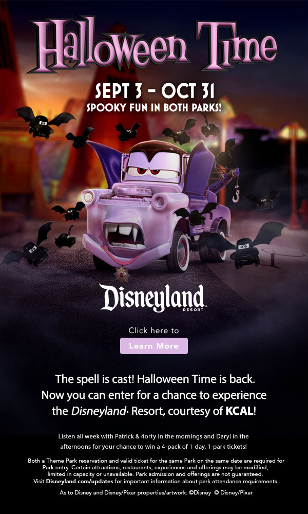 DISNEYLAND® Resort – Halloween Time