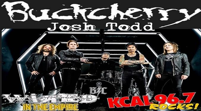 (LISTEN) Buckcherry singer Josh Todd talks to Mike Z-Wired In The Empire
