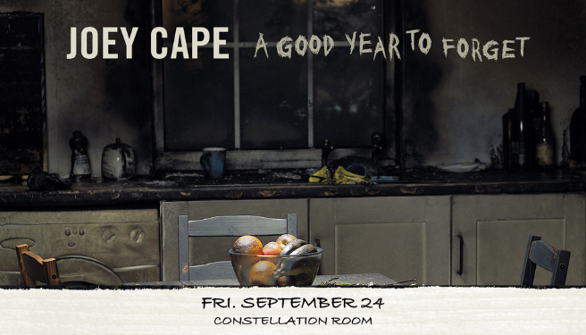 Joey Cape @ The Constellation Room on 9/24/21