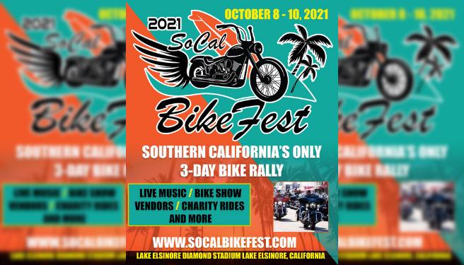 1st Annual SoCal Bike Fest 2021 @ Lake Elsinore Diamond Stadium