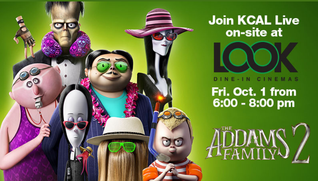 The Addam's Family 2 Release @ LOOK Dine-In Cinemas 10/1