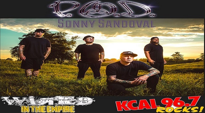 (LISTEN) P.O.D. Sonny Sandoval talks to Mike Z-Wired In The Empire