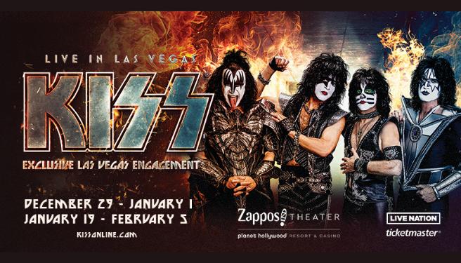 KISS Exclusive Las Vegas Engagement