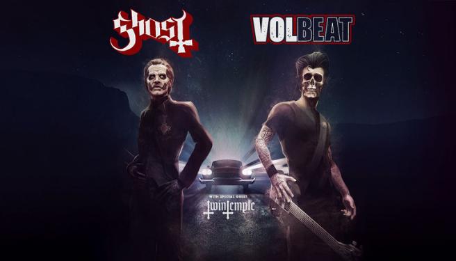 Ghost and Volbeat @  Honda Center