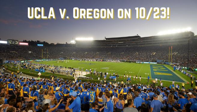UCLA v. Oregon @ The Rose Bowl