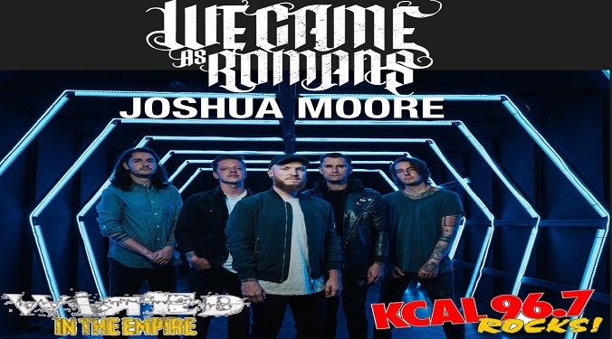 (LISTEN) We Came As Romans guitarist Joshua Moore talks to Mike Z-Wired In The Empire