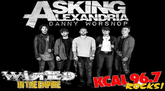 (LISTEN) Asking Alexandria singer Danny Worsnop talks to Mike Z-Wired In The Empire