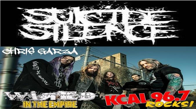 Suicide Silence guitarist Chris Garza