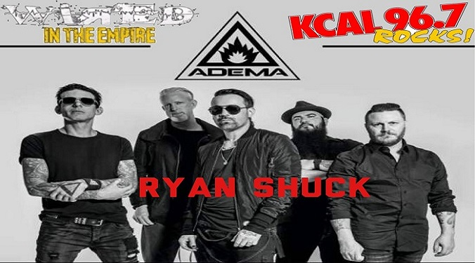 (LISTEN) Adema singer Ryan Shuck talks to Mike Z-Wired In The Empire