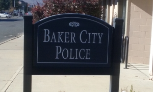 BAKER CITY:  Students ready to shop with a hero