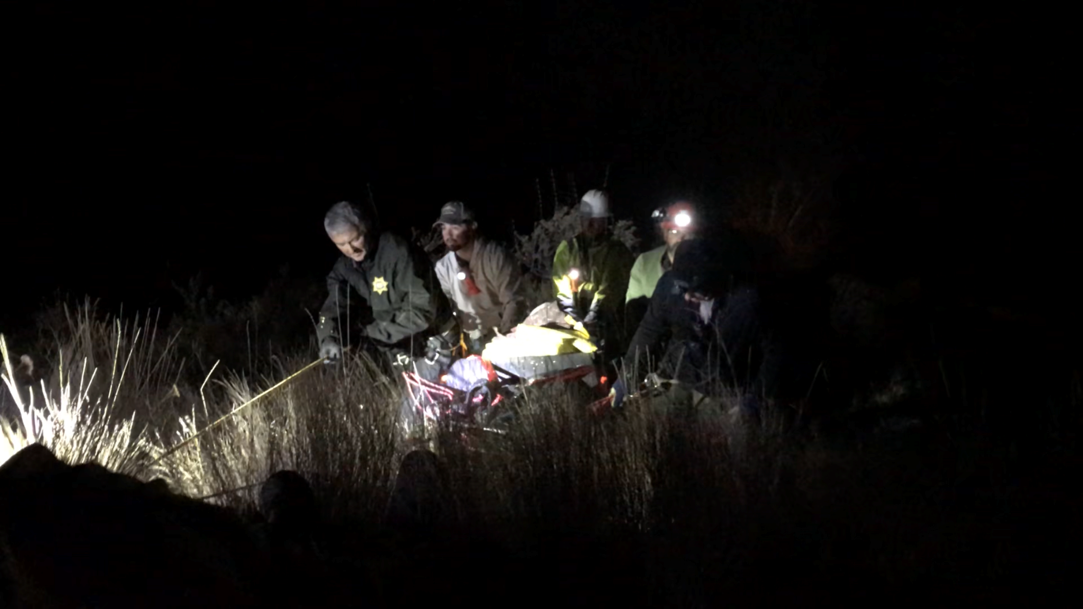 BAKER COUNTY:  Search and Rescue on Kleinschmidt Grade