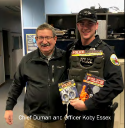 BAKER CITY:  Officer Essex is now on solo patrol