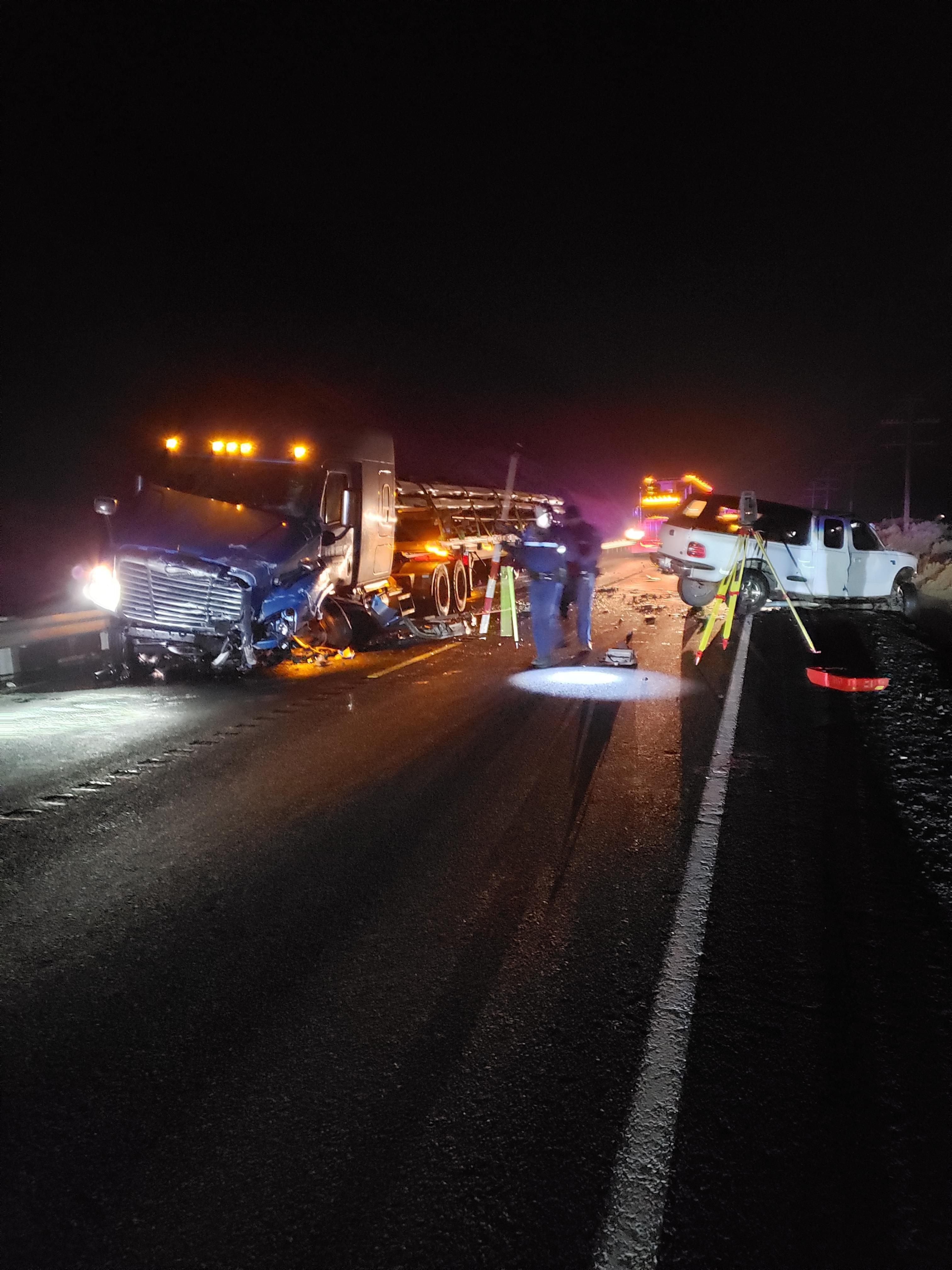 UMATILLA COUNTY:  Fatal Crash on Hwy 730