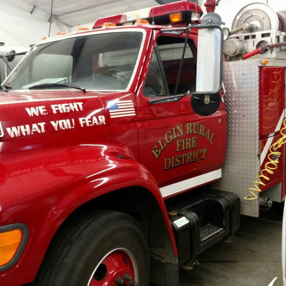 ELGIN:  Rural Fire Station training building broken into
