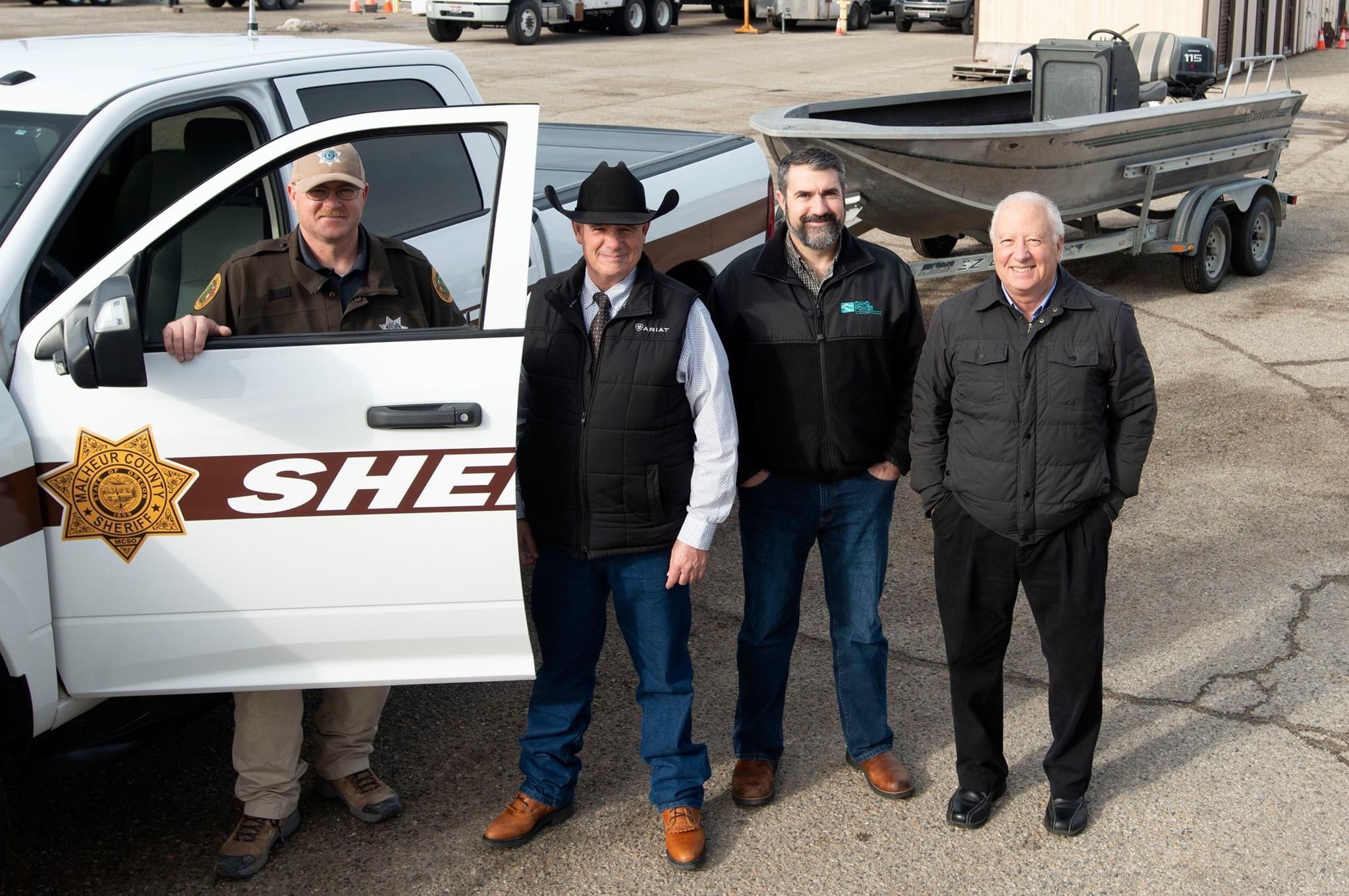 MALHEUR CO:  Sheriff's Department gets new (used) boat