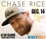 Chase Rice at The Fillmore Philly on 12/14