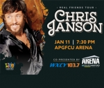Chris Janson at the APGFCU Arena on 1/11