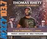 Thomas Rhett at BB&T Pavilion on 8/28
