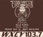 Chris Stapleton at BB&T Pavilion on 7/31