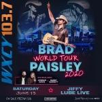 Brad Paisley at Jiffy Lube Live – 6/13